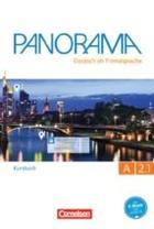 Panorama A2.1 Curso -  AA.VV. - Cornelsen