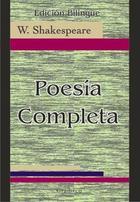 Poesía completa. Bilingüe - William Shakespeare - Gradifco