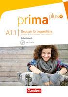 Prima Plus A1.1 Ejercicios, Deutsch für Jugendliche -  AA.VV. - Cornelsen