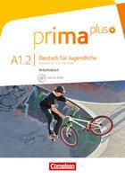 Prima Plus A1.2 Ejercicios, Deutsch für Jugendliche -  AA.VV. - Cornelsen
