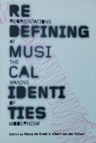 Redefining muscial identities - Rekus de Groot y Albert van der Schoot -  AA.VV. - Otras editoriales