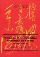 Sobre el materialismo - Philippe Sollers - Pre-Textos