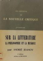 Sur la litterature - Andrei Jdanov -  AA.VV. - Otras editoriales