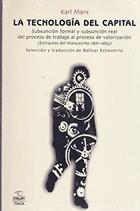 La tecnología del capital - Karl Marx - Itaca