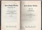 Werke, 3 vols. - Jean Paul - Otras editoriales