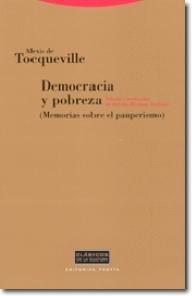 Democracia y pobreza - Alexis de Tocqueville - Trotta